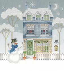 Cross stitch kit Karen Tye Bentley - Home For Christmas - Bothy Threads