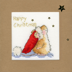 Cross stitch kit Christmas Cards - Star Gazing - Bothy Threads