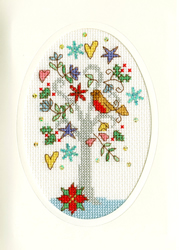 Cross stitch kit Christmas Cards - Winter Wishes - Bothy Threads