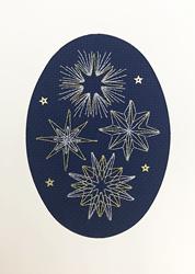 Cross stitch kit Bothy Designs - Shining Stars - Bothy Threads