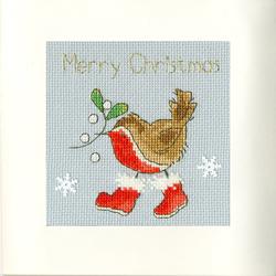 Cross stitch kit Margaret Sherry - Step Into Christmas - Bothy Threads