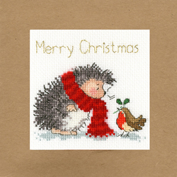 Cross stitch kit Margaret Sherry - Christmas Wishes - Bothy Threads
