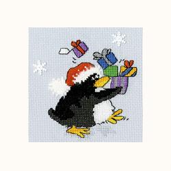 Cross stitch kit Margaret Sherry - PPP Presents - Bothy Threads
