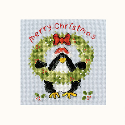 Cross stitch kit Margaret Sherry - PPP Prickly Holly - Bothy Threads