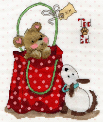 Cross stitch kit Ted & Ed - In The Bag - Bothy Threads