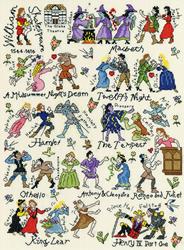 Borduurpakket Historical - Shakespeare - Bothy Threads