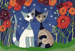 Cross stitch kit Rosina Wachtmeister - Poppy Nights - Bothy Threads