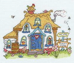Cross stitch kit Sew Dinky - Cottage - Bothy Threads
