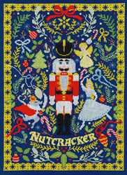 Cross stitch kit Vesna Skornšek - The Christmas Nutcracker - Bothy Threads