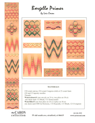 Borduurpatroon Bargello Primer - The Caron Collection