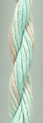 Waterlilies Seafoam - The Caron Collection