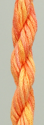 Waterlilies Tangerine - The Caron Collection