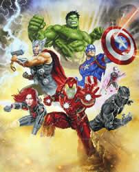 Marvel Avengers Avengers Assault - Camelot Dotz
