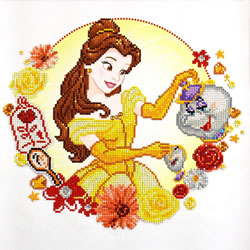 Disney Princess Belle's World - Camelot Dotz
