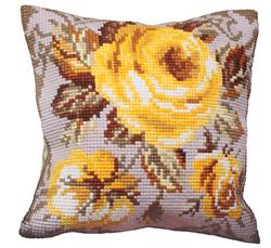 Kussen borduurpakket Rose Antique - Collection d'Art