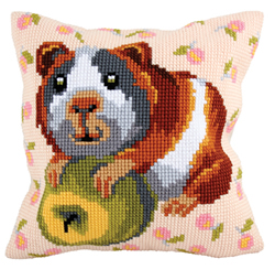 Cushion cross stitch kit Hungry Harry - Collection d'Art