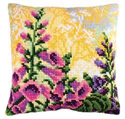 Cushion cross stitch kit Lupin Dream 2 - Collection d'Art