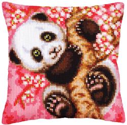 Kussen borduurpakket Hooray! It's Spring! - Collection d'Art
