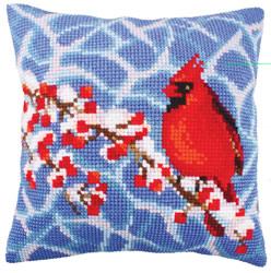 Kussenpakket Winter Red Berries - Collection d'Art