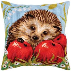 Kussenpakket Hedgehog with Apples - Collection d'Art