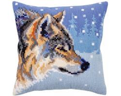 Kussenborduurpakket Winter animals - Collection d'Art