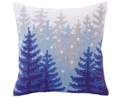 Kussenborduurpakket Winter forest - Collection d'Art
