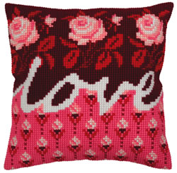 Cross stitch kit Love - Collection d'Art
