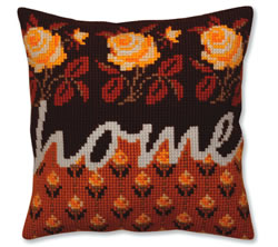 Cross stitch kit Home - Collection d'Art