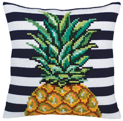 Kussenborduurpakket Pineapple - Collection d'Art