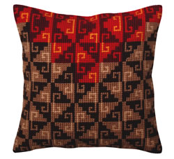Cross stitch kit Peruvian ornament - Collection d'Art
