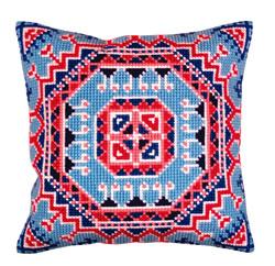 Cushion cross stitch kit Persian medallion - Collection d'Art