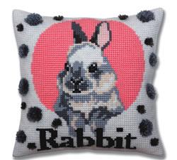 Cross stitch kit Rabbit - Collection d'Art