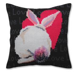 Cross stitch kit Love - Collection d'Art