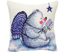 Cushion cross stitch kit Fairy Tales of the Stars  - Collection d'Art