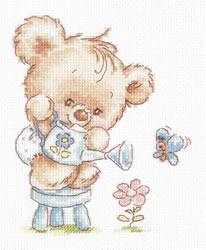 Cross stitch kit My flower - Chudo Igla (Magic Needle)