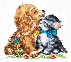 Cross stitch kit Tenderness - Chudo Igla (Magic Needle)