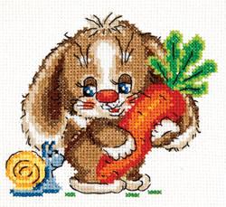 Borduurpakket Sweet carrot - Chudo Igla (Magic Needle)