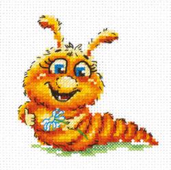 Cross stitch kit I'll be a butterfly - Chudo Igla (Magic Needle)