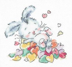 Cross stitch kit Bathed in love - Chudo Igla (Magic Needle)