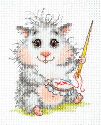 Cross stitch kit Wonderful needle - Chudo Igla (Magic Needle)
