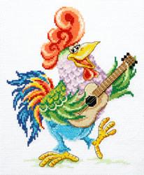 Cross stitch kit Wake up and sing - Chudo Igla (Magic Needle)