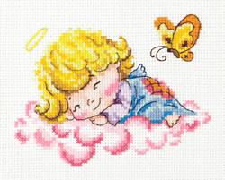 Cross stitch kit Little angel - Chudo Igla (Magic Needle)