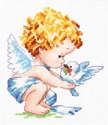 Borduurpakket Light angel - Chudo Igla