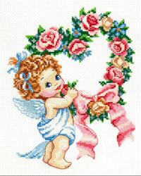 Borduurpakket Happy Valentine's day! - Chudo Igla (Magic Needle)