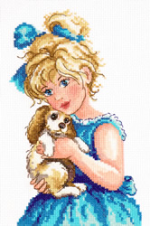 Cross stitch kit Gentle hands - Chudo Igla (Magic Needle)
