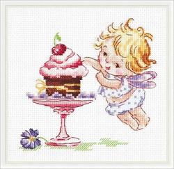 Borduurpakket I Love Sweets! - Chudo Igla (Magic Needle)