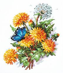 Cross stitch kit Dandelions - Chudo Igla (Magic Needle)