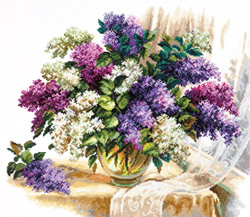 Cross stitch kit The scent of lilacs - Chudo Igla (Magic Needle)