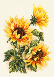 Borduurpakket Three sunflowers - Chudo Igla (Magic Needle)