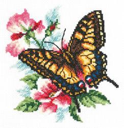 Borduurpakket Swallowtail butterfly - Chudo Igla (Magic Needle)